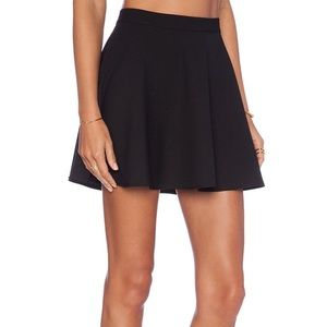 NBD x Naven Twins Chromat Black Polyester Skirt